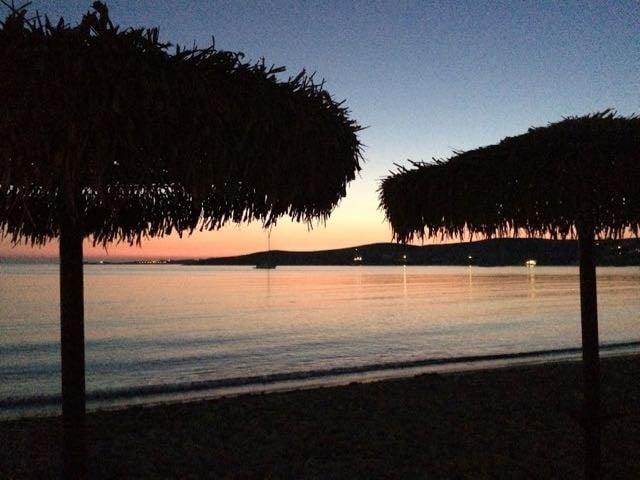 Is Santorini worth is - Paros Sunset
