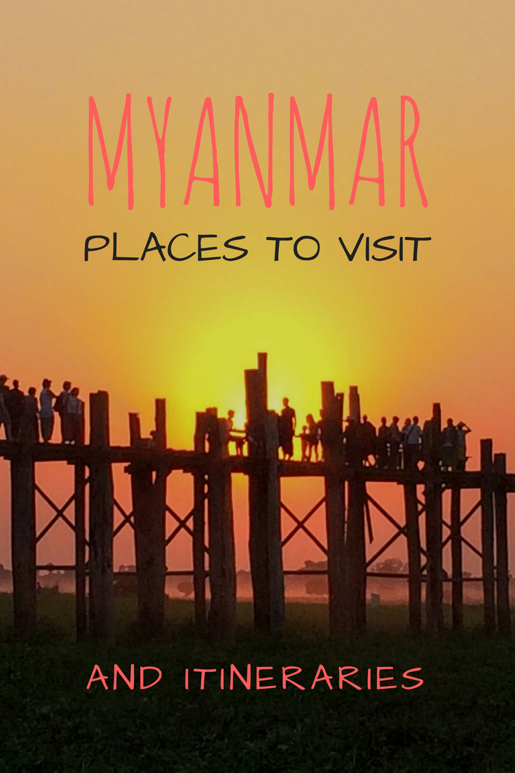 Myanmar Itinerary and Myanmar Places to Visit