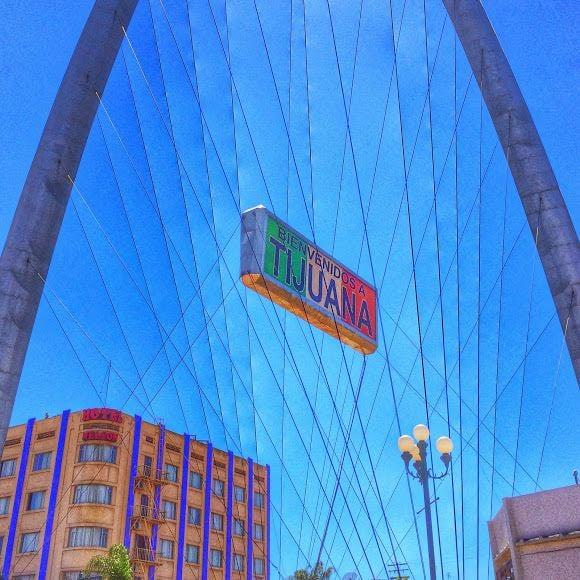 Visiting Tijuana from San Deigo - Monumental Arch