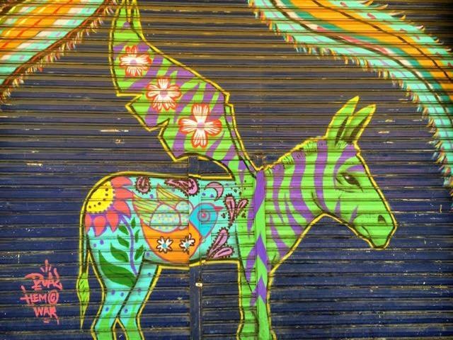 Visiting Tijuana from San Diego - street art
