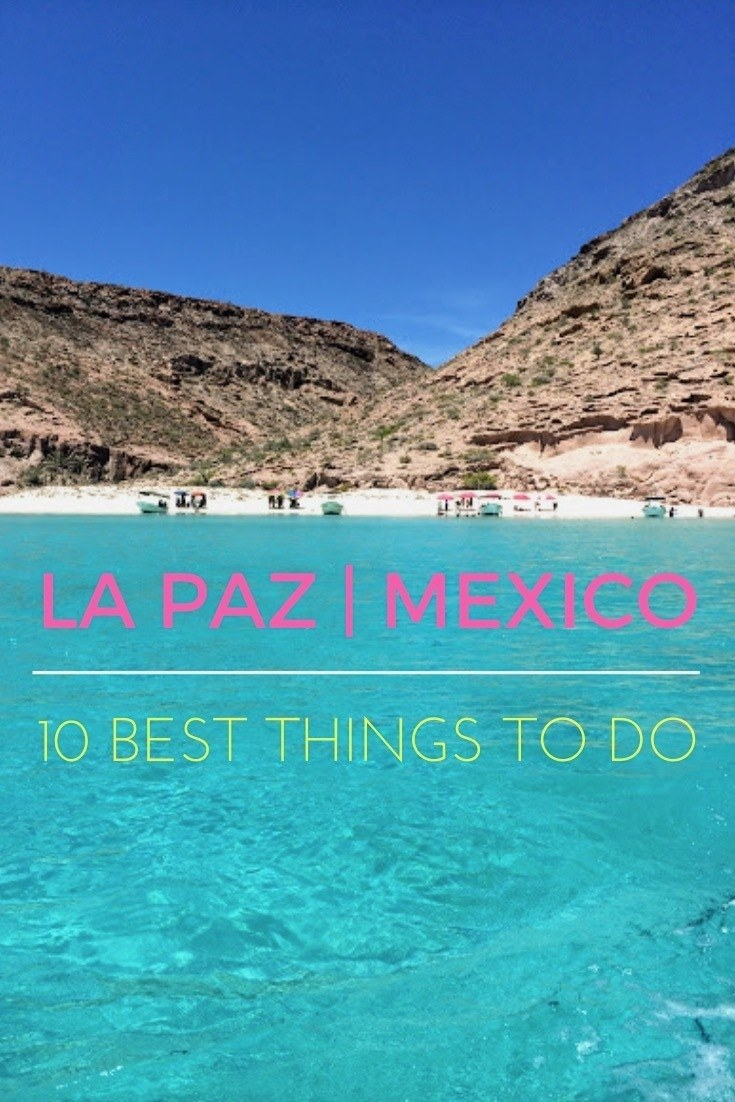 Balandra beach in La Paz Mexico Baja California