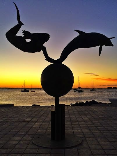 Things to do in La Paz Mexico Baja Sur statue