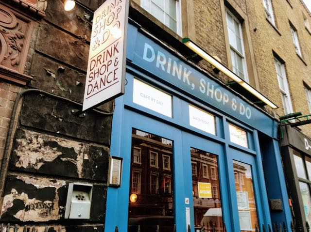 Things to do near Kings Cross St Pancras in London Drink Shop and Do