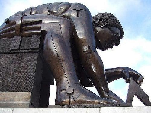 Things to do near kings cross st pancras London British Library Newton Statue