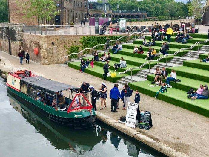 Things to do near kings cross st pancras regents canal boat ride hidden depths