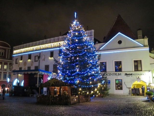 Best Eastern European Christmas Markets cesky-krumlov-christmas-market