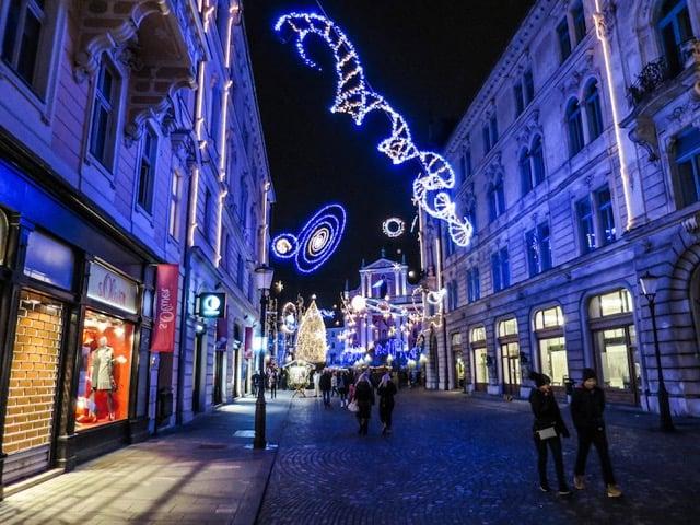 Best Eastern European Christmas Markets ljubljana-christmas-markets
