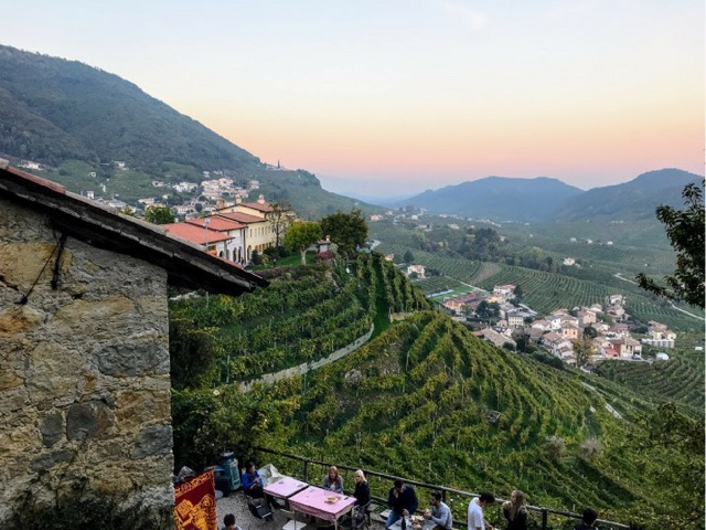 Wine tour from Venice Prosecco Region Visit Prosecco Italy Sunset