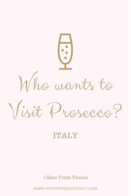Wine tour from Venice Prosecco Region Visit Prosecco Italy Who wants to visit