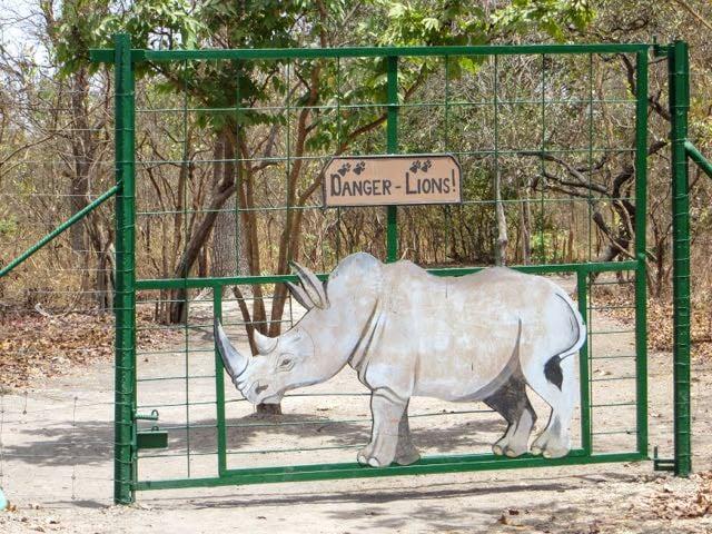 Safari packing list - rhino gate