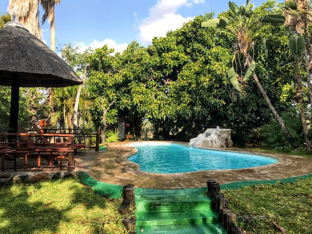 Safari packing list - swimming pool