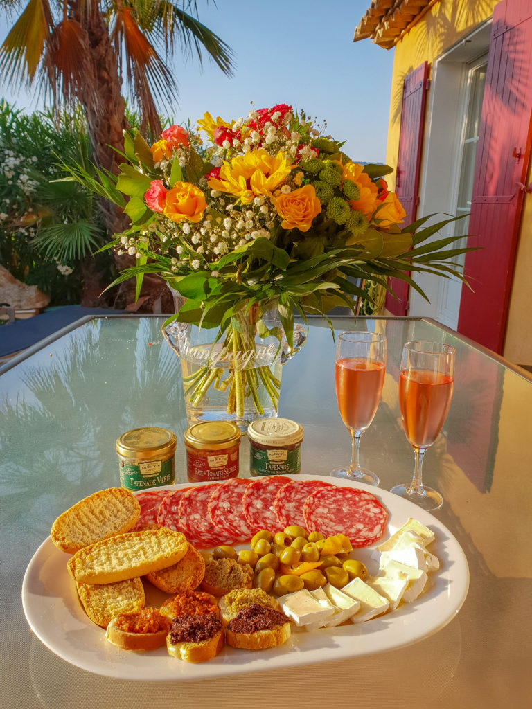 Sainte Maxime Villa Dinner