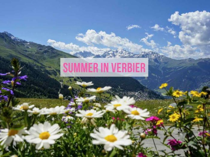 Things to do in Verbier in Summer