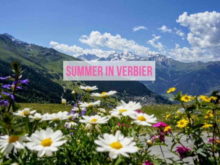 Things to do in Verbier in Summer