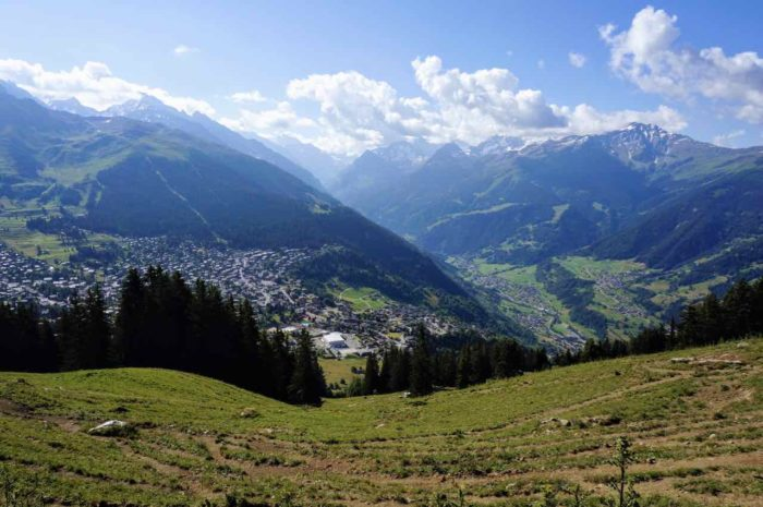 Things to do in Verbier in summer ebike in mountains