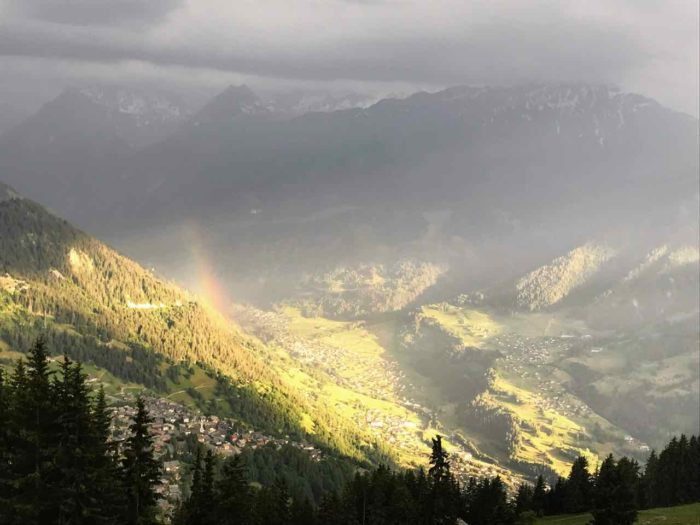 Things to do in Verbier in summer train from le chable