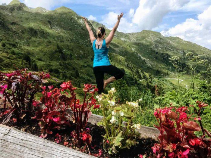 Things to do in Verbier in summer yoga