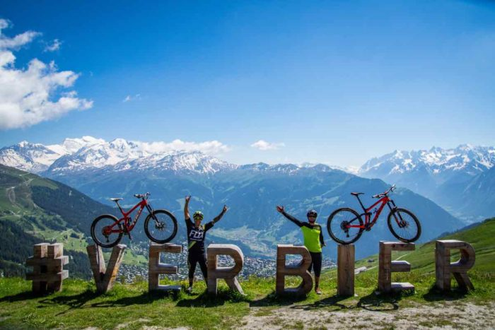 Things to do in verbier in summer bike trails