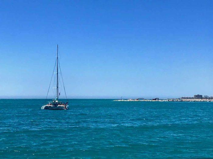 Best things to do in malaga - boat trip Malaga bay