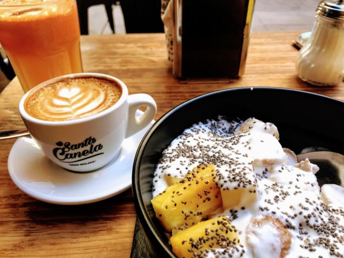 Where to eat in malaga tapas Santa Canela