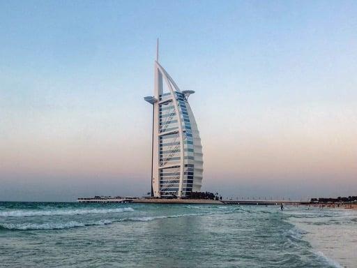 things to do in Dubai - burj al arab