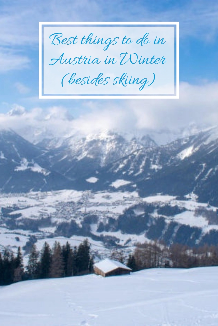 Best thing to do in Austria in Winter Pinterest