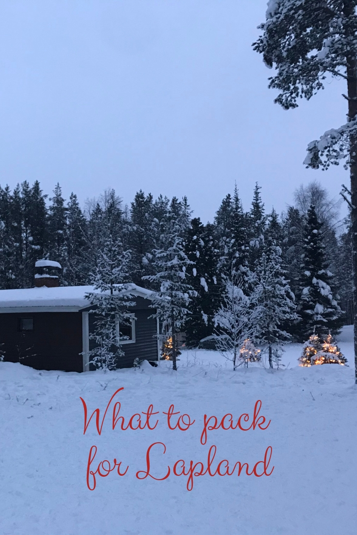 A guide to what to pack for Lapland including what to wear on the plane, what to pack for evenings in Lapland and how to buy cheap snow wear.