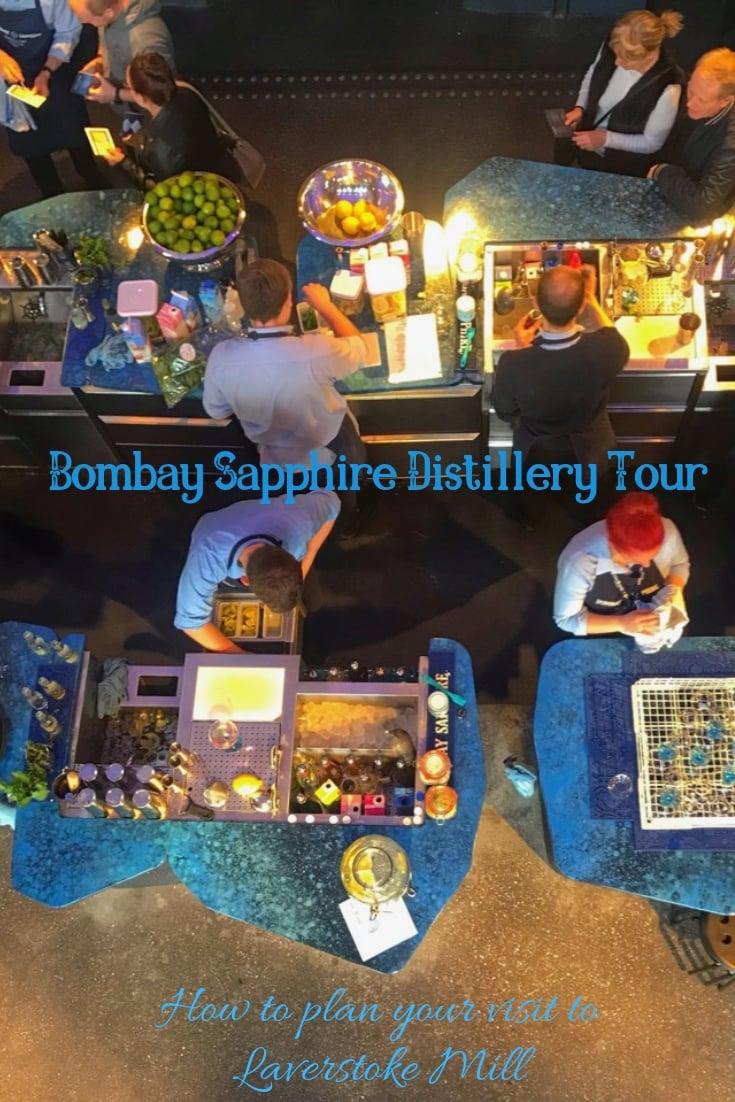Bombay Sapphire Distillery Tour Pinterest