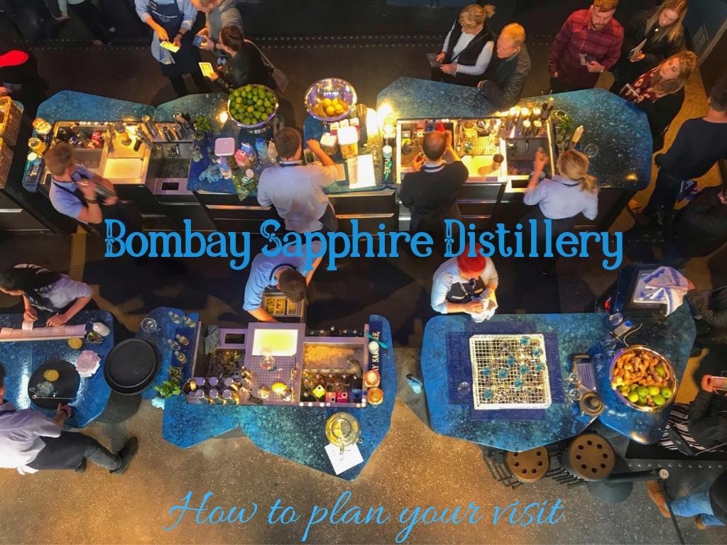 Bombay Sapphire Distillery Tour