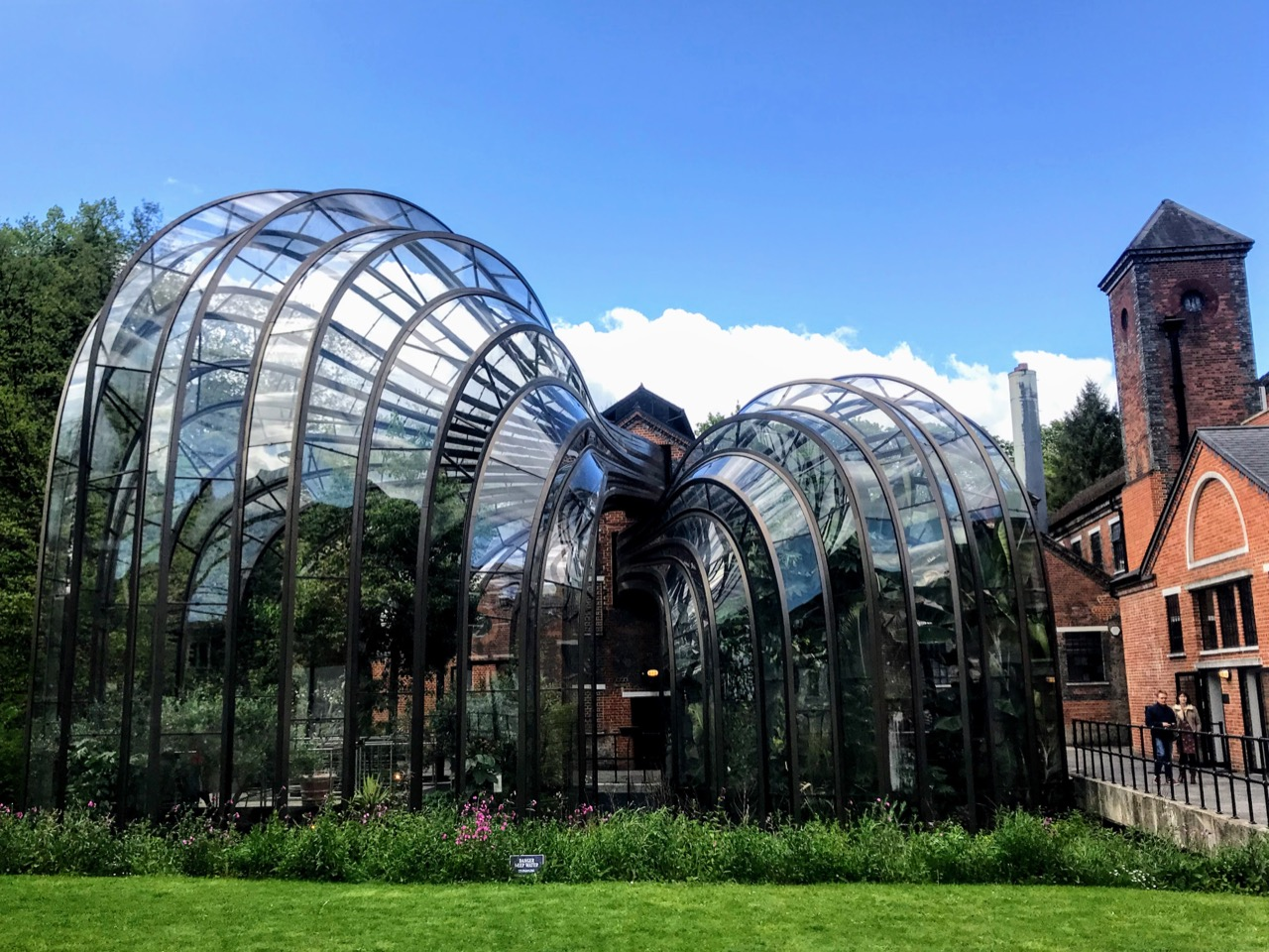 Planning a Bombay Sapphire Distillery Tour at Laverstoke Mill - Glass houses