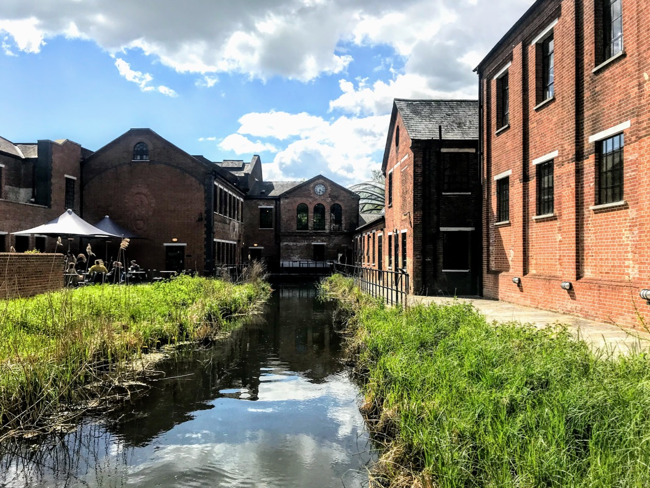 Planning a Bombay Sapphire Distillery Tour at Laverstoke Mill - Mill