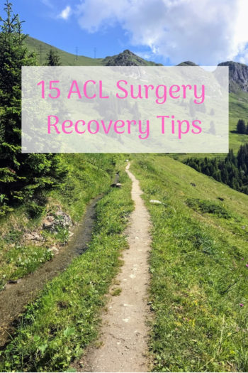 ACL surgery recovery tips