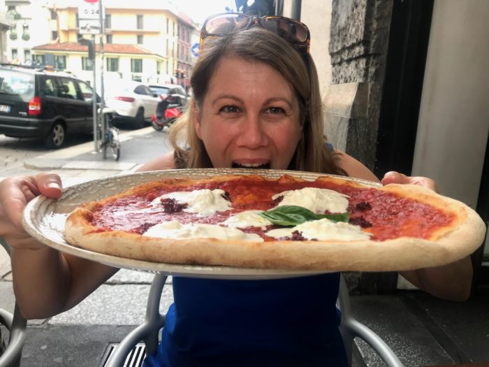 Things To Do In Milan Pizza in Brera