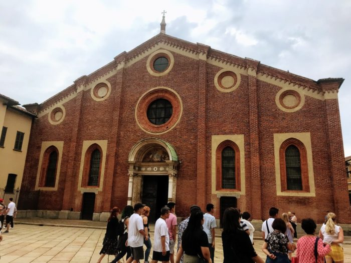 Things to do in Milan Santa Maria delle Grazie