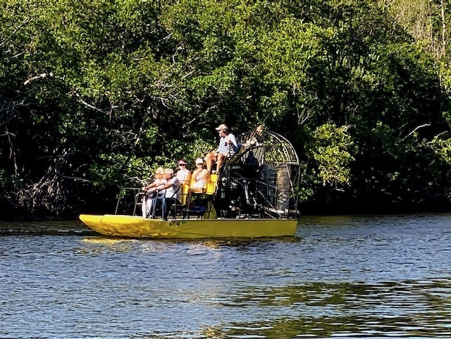 Things To Do In the everglades airboat tours