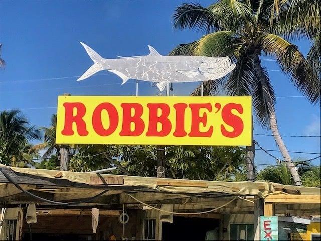 Robbies Marina Tarpon Fishing Florida Keys