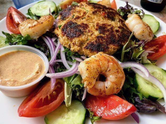 Fresh seafood in Florida Keys