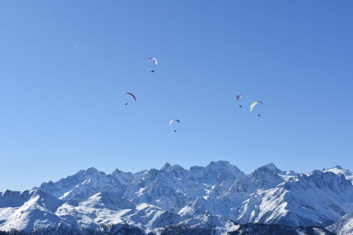 panorama over verbier