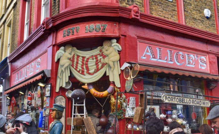 Portobello Road Market, top things to do in London