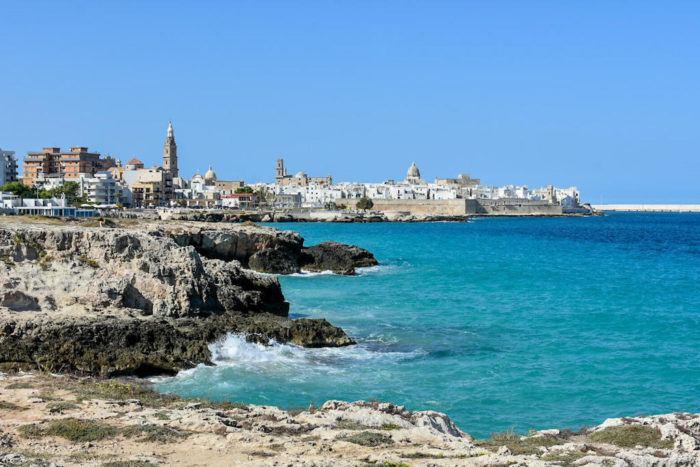 Monopoli coastline, best things to do in Puglia Italy