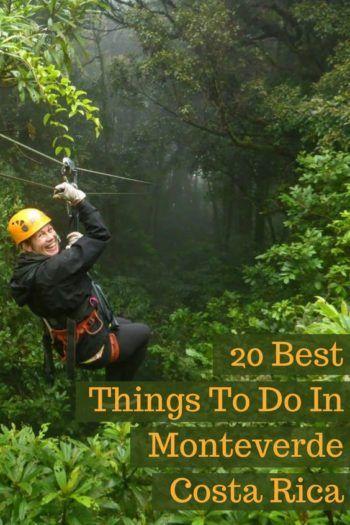 ziplining in Monteverde cloud forest costa rica