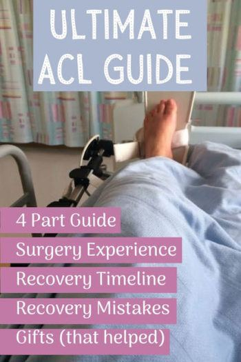 ACL picture in hospital bed
