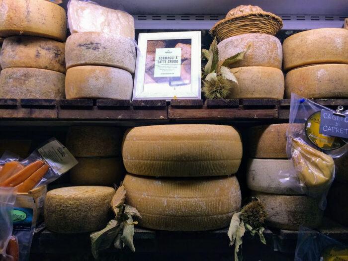 Cheese at Sarpori di Sardegna Cagliari