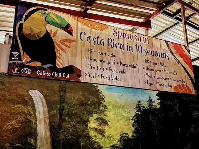 pura vid spanish translation pure life costa rica