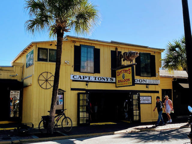yellow bar in key west captain tonys saloon old style